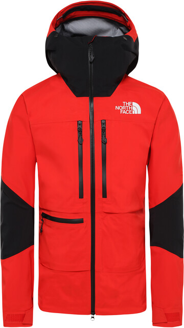 The North Face L5 Jacke Herren fiery redtnf black